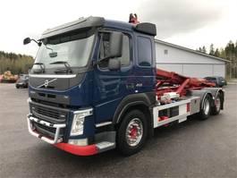 container truck Volvo FM 450 6x2/4 Koukkuauto 2014