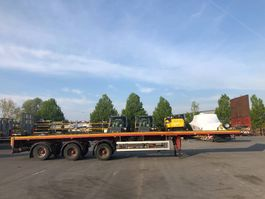 flatbed full trailer Faymonville SPZ-3AA (extendable to 29m) 2002
