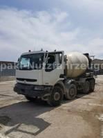 Betonmischer-LKW Renault Kerax 420 /8x4/  Liebherr 9cbm *NEUE GETRIEBE*