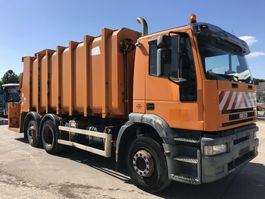 garbage truck Iveco EUROTECH 260E31 6x2 **REFUSE TRUCK-BENNE ORDURE** 2001