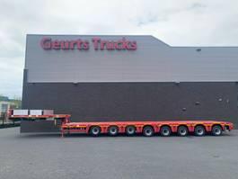 semi lowloader semi trailer Nooteboom MCO-121-08V 8 AXEL SEMIE LOWLOADER 1X EXTENDABLE 2012