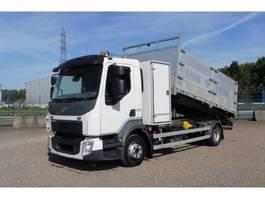 tipper truck > 7.5 t Volvo FL 12.210 L - 4x2 - EURO 6 - 28.826 Km - KIPPER + GEREDSCHAPKIST 2014