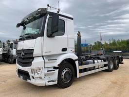 tipper truck > 7.5 t Mercedes Benz Antos 2548 Meiller 2015