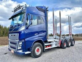 timber truck Volvo FH-16 750 8X4 4300 2014