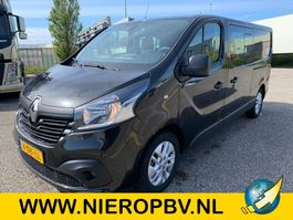 closed lcv Renault TRAFIC l2 dubcab airco navi dub schuifdeur 2018