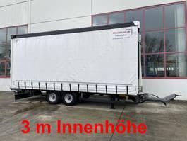 drop side full trailer Möslein TPW 105 Schwebheim  Tandem Planenanhänger, 3 m Innenhöhe-- Neuwertig -- 2018