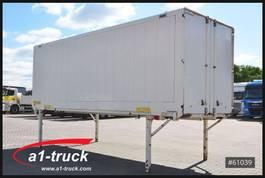 swap body box container Krone WK 7,45, BDF WB Textil, Portaltür Code XL 2012