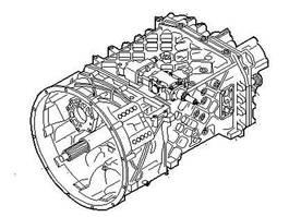 Gearbox truck part Iveco Gearbox
