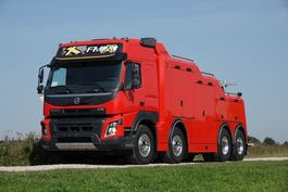 tow-recovery truck Volvo FMX 540 8x4 Globetrotter Nieuw Model