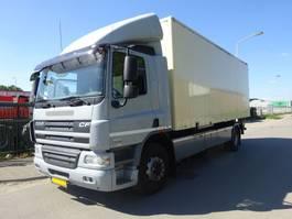 closed box truck > 7.5 t DAF 75 CF 360 EURO 5 !!! 2010