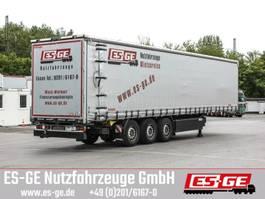 sliding curtain semi trailer Kögel 3-Achs-Cargo-Pritschensattelanhänger 2018