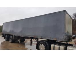 closed box semi trailer Groenewegen DRO-II-20 1982