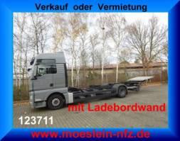 swap body truck MAN TGX 18.440 LL LBW, BDF  MAN TGX 18.440 LL mit LBW 2010
