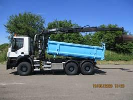 tipper truck > 7.5 t Iveco 380 T 41 W TRAKKER EURO 5 6X6 FULLSTEELSUSPENSION 2008