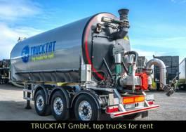 tank semi trailer semi trailer Kaessbohrer V2A Gülle 29 m³, Pumpe, Leer 6.340 Kg, MIETEN? 2018