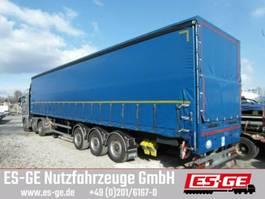 sliding curtain semi trailer Schmidt 3-Achs-Sattelanhänger mit Plane
