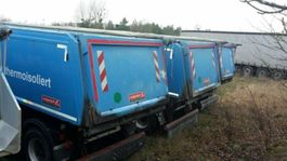 tipper semi trailer Langendorf SKA 24/30 2015