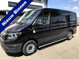 closed lcv MAN TGE 3.140 GB zwart automaat en navi 2020