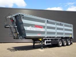 tipper semi trailer Kempf SKM 39/3 SHL SCHROT / HARDOX / 57 m3 / NIEUW! 2020