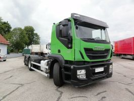 chassis cab truck Iveco AT260S46Y/PS EEV Intarder manuell Lenkachse