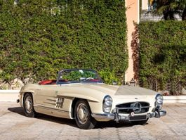 other passenger car Mercedes Benz 300 SL Roadster 300 SL Roadster, matching-numbers 1957