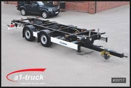 swap body trailer Krone ZZW 18 Tandem BDF, lang Hub, zul GG 20.000 kg , HU 06/2020 2017