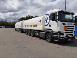 tank truck Scania R580 Yhdistelmä 2017