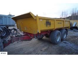 other agricultural machine Pronar T679 / 2 dumper trailer 2015