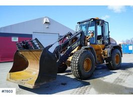 wheel loader Case 721E only 5000 hours 2008