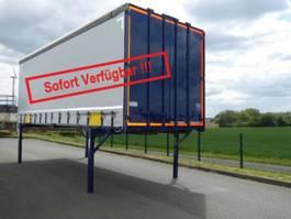swap body trailer Krone Wechselbrücke Plane 2007