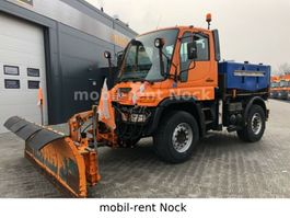 tipper truck > 7.5 t Unimog U400/Winterdienst/Top Zustand