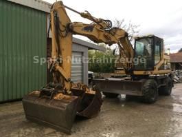 wheeled excavator Caterpillar M312/Schnellwechsler/3 Bucktes/Klima 2000