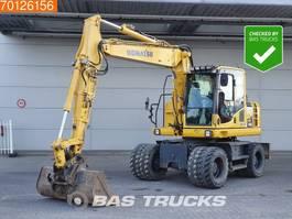 wheeled excavator Komatsu PW148 -8 Low hours - All functions 2015