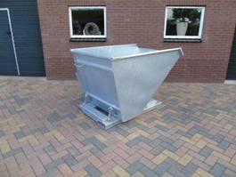 ostatní zemědělské stroje NDH kiepbak kantelbak afvalcontainer heftruck shovel 2018
