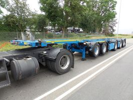 container chassis semi trailer Broshuis 2 CONNECT-5AKCC 61.000 KG top-top 2011