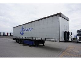 sliding curtain semi trailer CIMC SG03 STANDARD 2014
