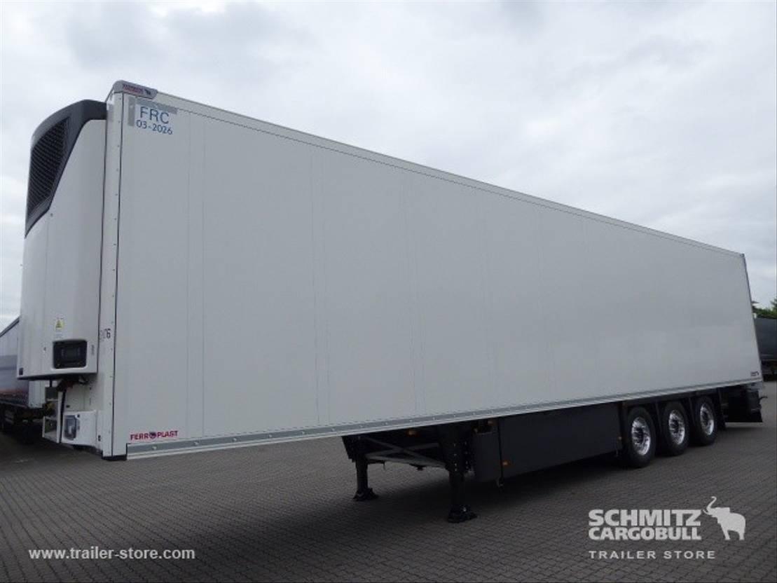 refrigerated semi trailer Schmitz Cargobull Vries Multitemp Dubbeldeks