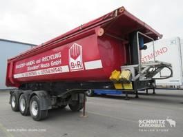 tipper semi trailer Langendorf Kipper Staal rond 24m³ 2009