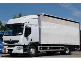 tilt truck Renault Premium 370 DXi PritschePlane Edscha LBW Euro5 2008