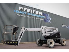 articulated boom lift wheeled Niftylift HR15D 4x4 Diesel, 4x4 Drive, 15.7m Working Height, 2014
