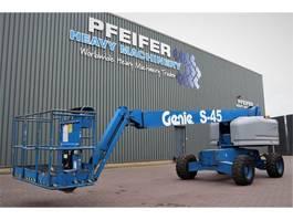 telescopic boom lift wheeled Genie S45/4WD Diesel, 4x4 Drive, Jib, 15.72m Working Hei 2006