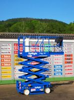 scissor lift wheeld Upright Arbeitsbühne UPRIGHT MX 19 ELEKTRO - 8m 2004
