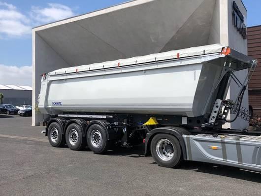 Pritsche / Plane Auflieger Schmitz Cargobull 28,2m3 electrisch schuifzeil 2019