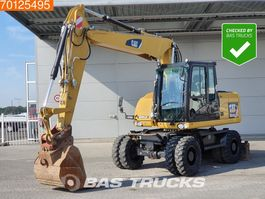 wheeled excavator Caterpillar M313 D MP + HP - From Cat dealer - Low hours 2010