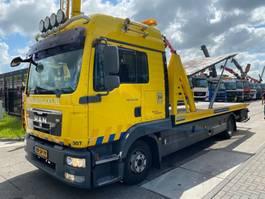 car transporter truck MAN TGL 12.250 4X2 EEV + OMARS 3 LADER 2010