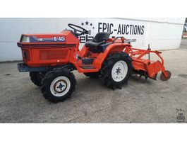 farm tractor Kubota B40 Met Frees
