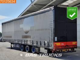 sliding curtain semi trailer Draco TMS 336 Liftachse Rollenbett-Aircargo-Luftfracht 2008