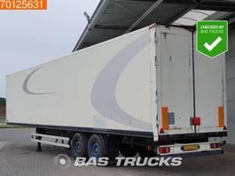 closed box semi trailer Kögel SPKH18 Aircargo-Luftfracht-Rollenbett 2005