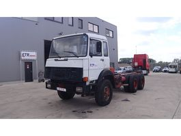 chassis cab truck Iveco Magirus 330 - 35 (FULL STEEL / V8 ) 1987