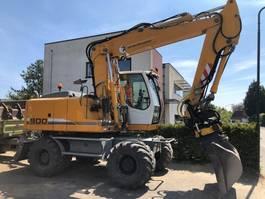 wheeled excavator Liebherr A900C 2011